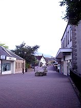 A picture of Milngavie village